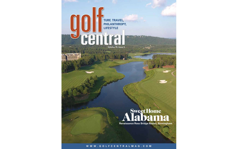 Golf Central Magazine Cover Photo – Nov 2018